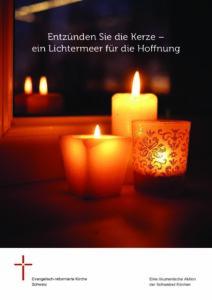 Lichtermeer für die Hoffnung